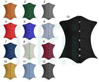 Taillen korsett corsage aus Brokat Schwarz//Silber Gr 34,36,38,40,42,44,46,bis 56