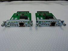 2 x Cisco WIC-1B-S/T-V3 WAN Interface Card CCNA CCNP, module