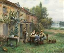 Ladies Having Coffee by Daniel Ridgeway Knight