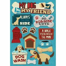 Cardstock Stickers - My Dog, My Friend - Karen Foster