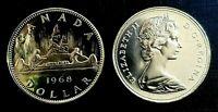 Canada 1968 Proof Like Voyageur Nickel Dollar!!
