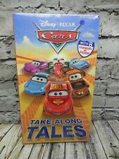 Disney PIXAR Cars Take-Along TALES Storybooks and Stickers~NEW~Free Shipping