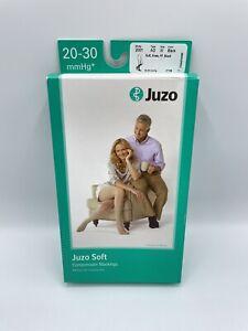 NIB Juzo 20-30 mmHg Compression Stockings Knee Socks Model 2001 Black AD SZ III