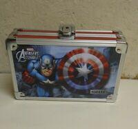 Marvel Avengers Assemble Vaultz Storage Box 8 1/4 x 5 1/8 x 2 1/2 No key