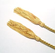 7mm Dressing Gown Cord / Curtain Tie Back / Hold Back with Tassels 150cm Rope