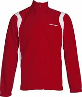 Brooks Podium Mens Running Jacket Red Track Racing Team Warm Up