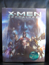 X-Men Apocalypse 3D Kimchidvd Exclusive Blu-Ray Steelbook Lenticular Slip Marvel