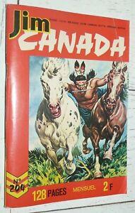 PETIT FORMAT IMPERIA JIM CANADA N°204 1975 SERGENT POLICE MONTEE TUNIQUES ROUGES