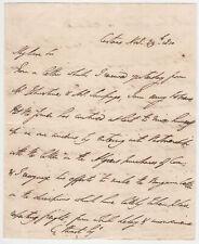 More details for duke of wellington, original peninsular war campaign letter, portugal 1810