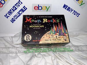 Hasbro Magic MOON ROCKS outer space garden rocket astronaut 1959 playset UNUSED