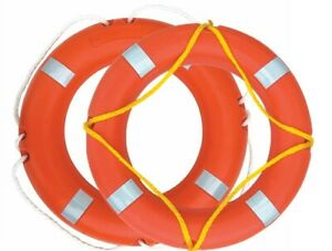 Solas Life Ring Buoy 62, 70, 72cm With Solas Reflective Tape Lifering 2.5kg 4kg