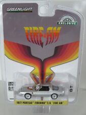 Greenlight 1:64 Pontiac Firebird 1977 Fire Am silver 30148 Brand new