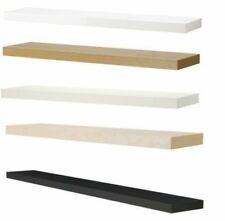 IKEA Lack Wall Floating Shelf Shelves Display,110cm x 26 cm,Concealed Mounting