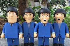 "The Beatles ""Can't Buy Me Love"" PVC Vinyl 28""cm Action Figures 4 in 1 Full Set"