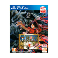 One Piece 4 Pirate Warriors Kaizoku Musou PlayStation PS4 2020 Chinese Sealed