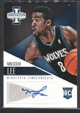 MALCOLM LEE 2012/13 INNOVATION ROOKIE AUTOGRAPH TIMBERWOLVES SP $12