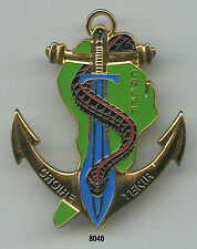Insigne troupes de Marine, CREFF. / 9 BIMA. ( matriculé )