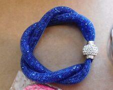 Bracelet Multi-strand Magnetic Rhinestone Latch Charm