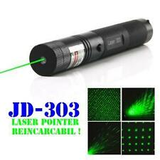 RECHARGEABLE HIGH POWER GREEN LASER POINTER BEAM WITH STYLISH DISCO LIGHT