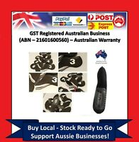 10 x BLACK GOLF IRON HEAD COVERS Numbers Both Side and Display Window Cover CY