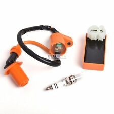 Racing Ignition Coil Spark Plug CDI For Gy6 Scooter ATV TaoTao 50cc 125cc 150cc