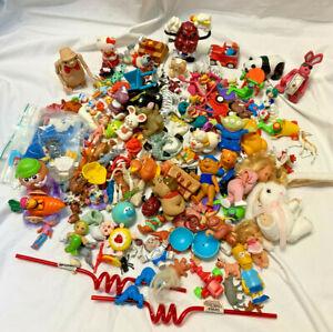 Mixed PVC Plastic Toy Lot ET Sweet Secrets SS Pets Pencil Toppers Premium Junk