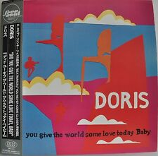 Doris Did You Give The World Some Love Today Baby Japan LP Toshiba AISLE1013 Obi