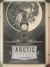 Arctic Monkeys 2010 Limited Edition Poster By Telegramme Studio Extremely Rare