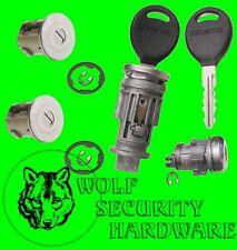 Cherokee Some 1998-01 Ignition Switch Lock Cylinder & Door & Rear Lock Set 2 Key