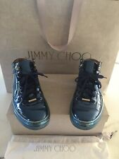 Jimmy Choo Blue Ankle Boot Trainers 38