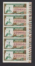 LOTERIA DE BENEFICENCIA Y CASINOS SORTEA 5 DE MAYO 1972 ARGENTINA SERIE ENTERA