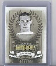 2012-13 IN THE GAME FOREVER RIVALS CHARLIE CONACHER ITG IMMORTALS MAPLE LEAFS