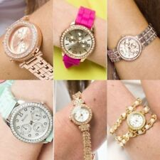 Womens Fashion Wristwatch Design Jewellery Bracelet Watch -Joblot 10 pcs