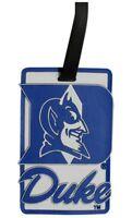 Duke Blue Devils Luggage Travel Tag Soft Bag Tag ID Tag NCAA