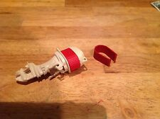 Tonka Outboard Motor Red Insert Replacement  ..... Made in USA Toy Parts