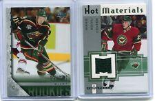 2005-06  Mikko Koivu  2 Cards Lot  Young Guns + Hot Prospects  Jersey