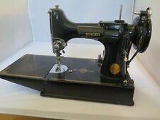 Vintage Singer Featherweight 221 Sewing Machine - Cat 3-120
