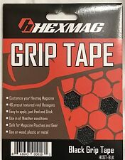 Hexmag Magazine Tactical MAG GRIP TAPE Decal Sticker Adhesive 223 5.56 Black