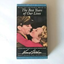 The Best Years of Our Lives Vhs Myrna Loy, Fredric March