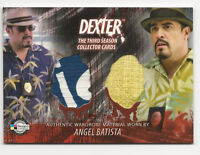 Angel Batista DEXTER Season 3 2010 Breygent Dual Costume Card D3-C14 David Zayas