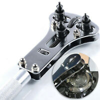 Universal Watch Repair Back Case Opener Wrench Screw Cover Remover Tool Kit