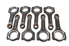 "I Beam Race 6.125"" 2.100"" .927"" Bronze Bush 5140 Connecting Rods Chevy SBC 350"