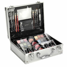 Technic Large Beauty Case with Cosmetics 48 Piece set Mirror Make up Organiser