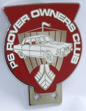 BRAND NEW - ROVER P6 - P6 ROVER OWNERS CLUB GRILLE BADGE / BADGE FOR BADGE BAR