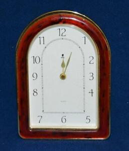 Elite England Mantle Desk Quartz clock NEW