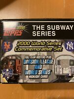 2000 Topps Baseball - Subway Series Commemorative - Complete Set - 101 Cards