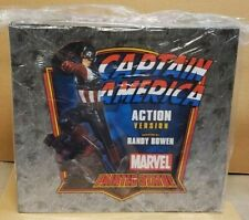 CAPTAIN AMERICA ACTION STATUE BY BOWEN DESIGNS (FACTORY SEALED, BRAND NEW)