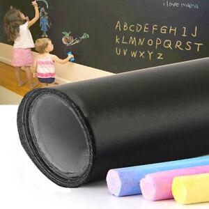 200 x 60cm Removable Blackboard Vinyl Wall Sticker Chalkboard Decal With 5 Chalk