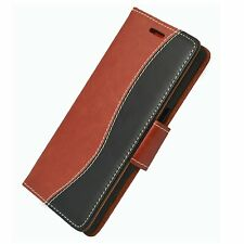 Wallet S-Line Leather Flip Case Cover For OnePlus 3 + 2 PROTECORS