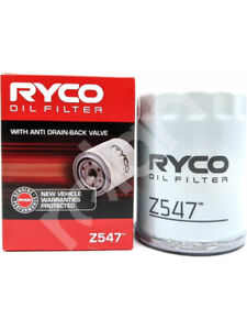 Ryco Oil Filter FOR INFINITI QX70 (Z547)